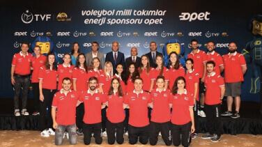 TVF A Milli Kadın Voleybol Takımının Yakıt Sponsorluğu