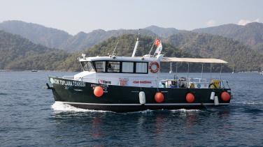 DTO Fethiye Atık Alım Teknesi