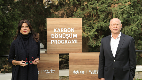 """Koç Holding, İklim Kriziyle Mücadele Yolunda ve 2050 Karbon Nötr Hedefine Yönelik """"Karbon Dönüşüm Programı""""nı Başlattı"""