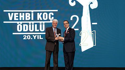 Prof. Dr. Hüseyin Vural Receives 20th Vehbi Koç Award